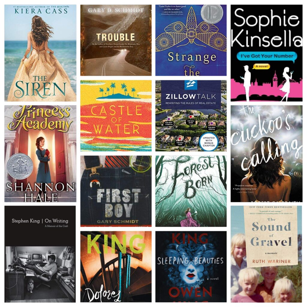 What we Read in March – The McBrides